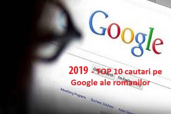 Top cele mai populare cautari Google in Romania 2019